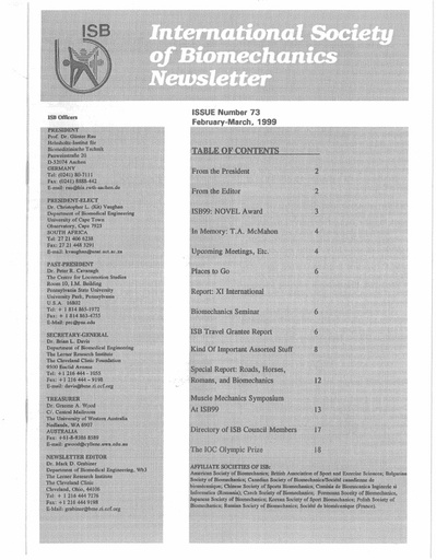 Issue 73 - February 1999
