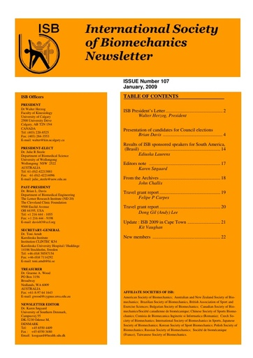 Issue 107 - January 2009