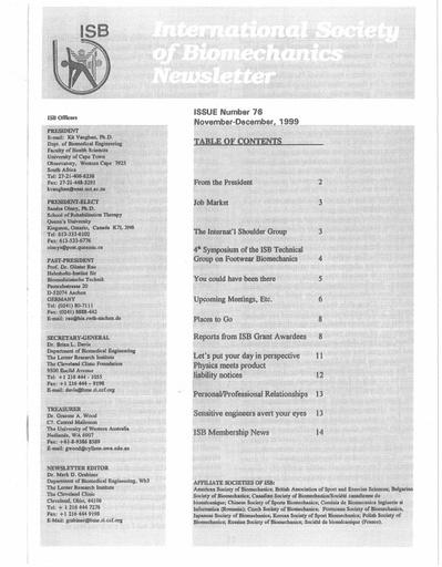 Issue 76 - November 1999