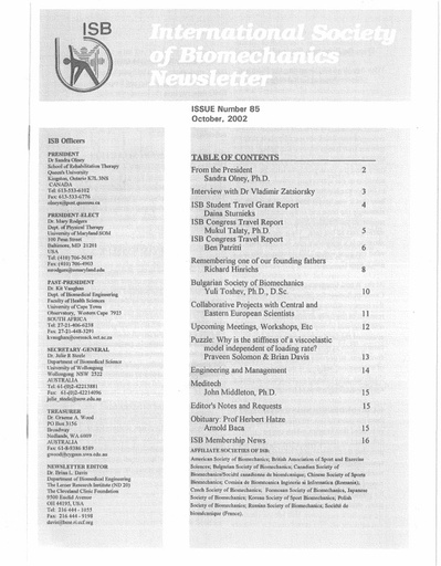 Issue 85 - October 2002