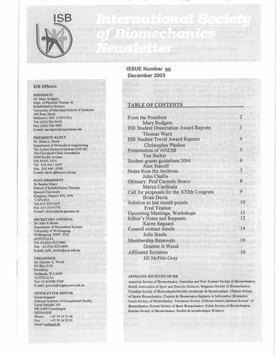 Issue 90 - December 2003