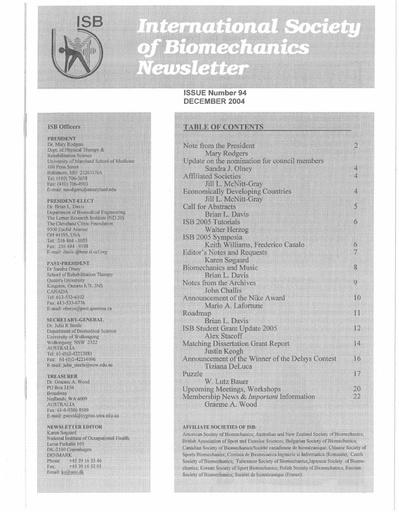 Issue 94 - December 2004