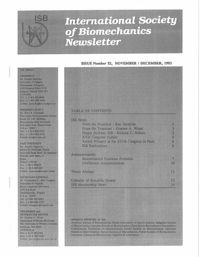 Issue 52 - November 1993