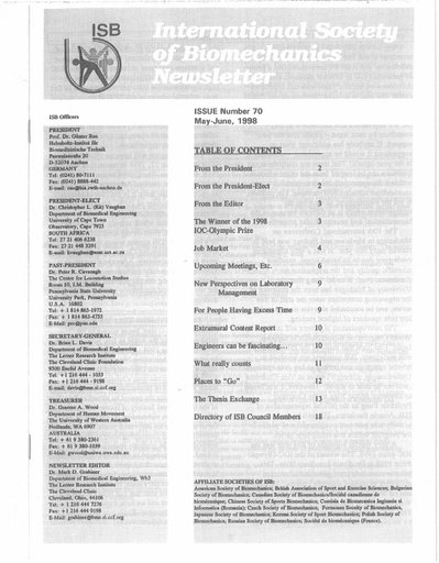 Issue 70 - May 1998