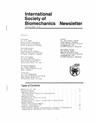 Issue 10 - Spring 1983