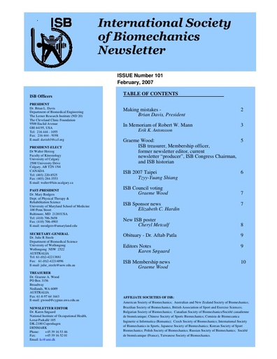 Issue 101 - February 2007